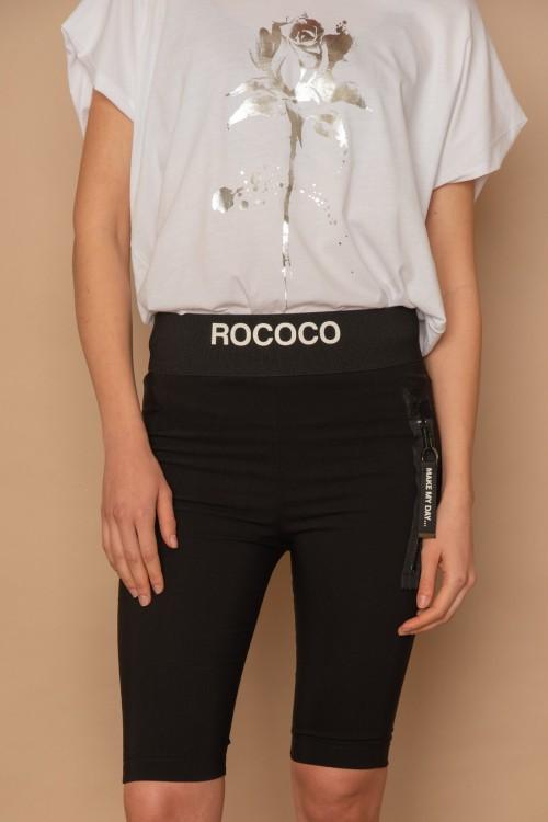 """Βερμούδα ποδηλατική με λάστιχο """"ROCOCO"""", γυναικεία"""