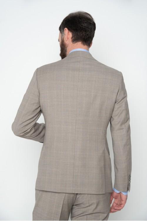 Κοστούμι καρώ, Tropical Super 130's, ανδρικό