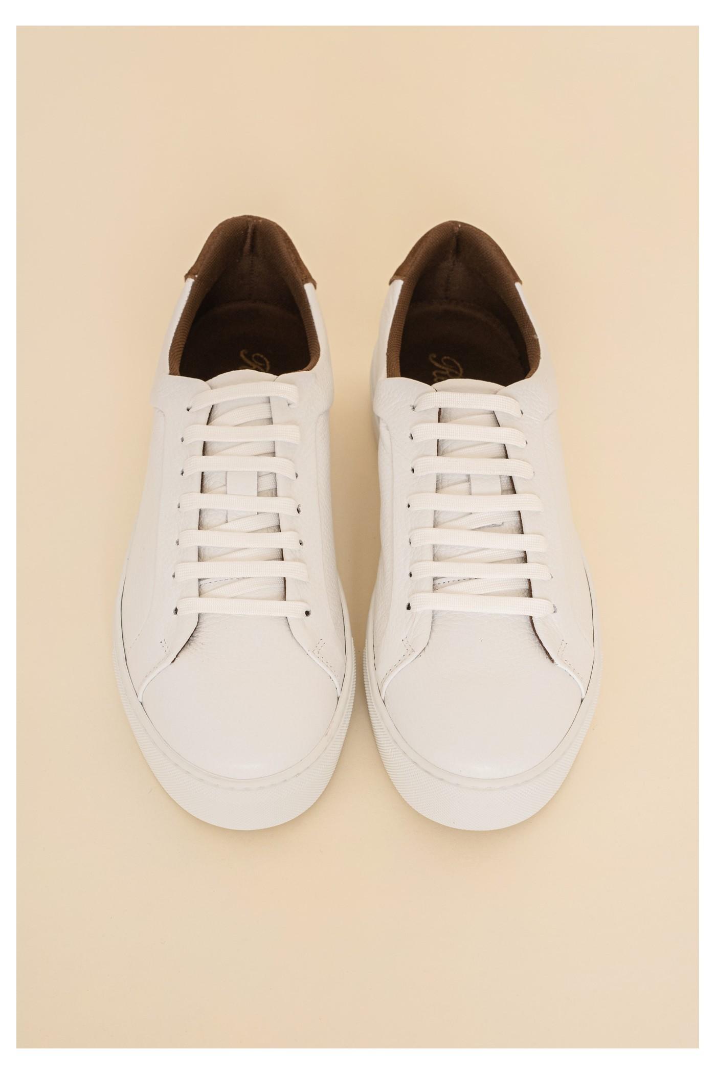 Παπούτσι δερμάτινο sneaker, ανδρικό