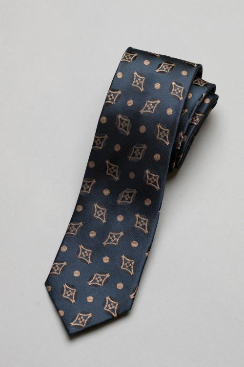 Ανδρική γραβάτα, 100% μεταξωτή - 2