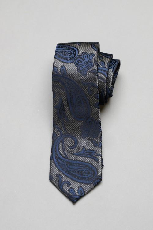 Ανδρική γραβάτα, 100% μεταξωτή - 3