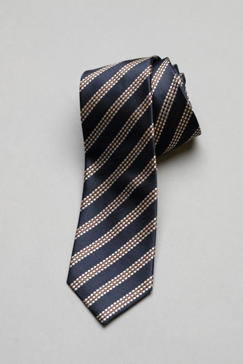 Ανδρική γραβάτα, 100% μεταξωτή - 5