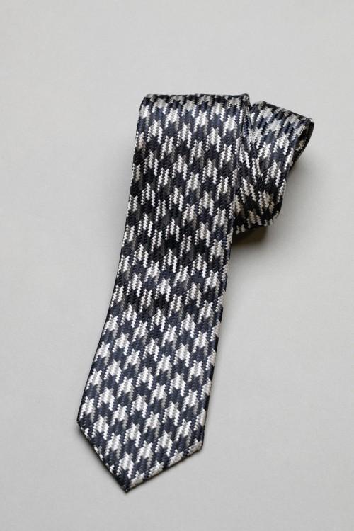 Ανδρική γραβάτα, 100% μεταξωτή - 6