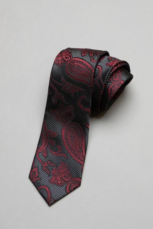 Ανδρική γραβάτα, 100% μεταξωτή - 7