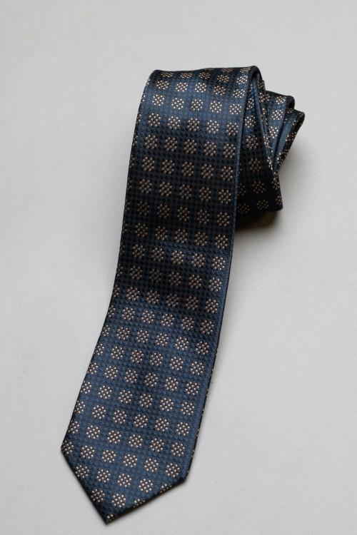 Ανδρική γραβάτα, 100% μεταξωτή - 8
