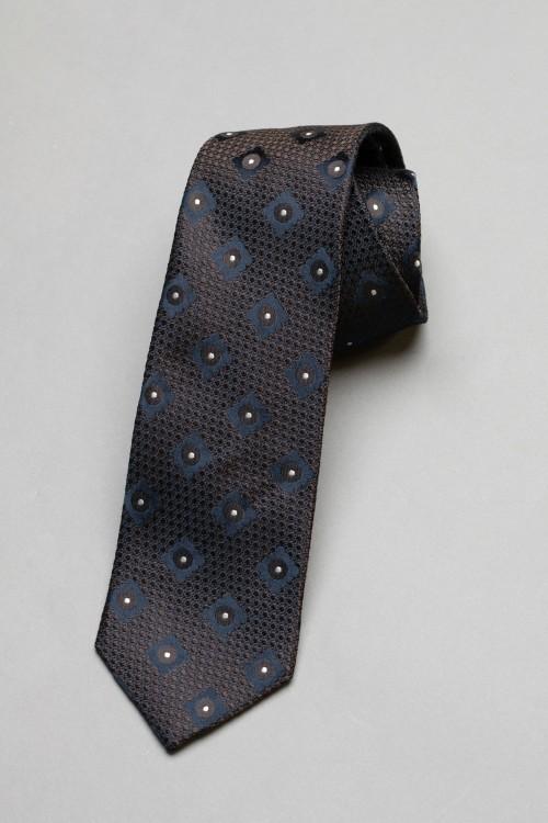 Ανδρική γραβάτα, 100% μεταξωτή - 9
