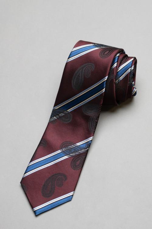 Ανδρική γραβάτα, 100% μεταξωτή - 12