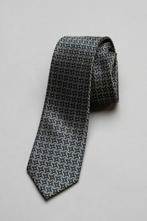 Ανδρική γραβάτα, 100% μεταξωτή - 14