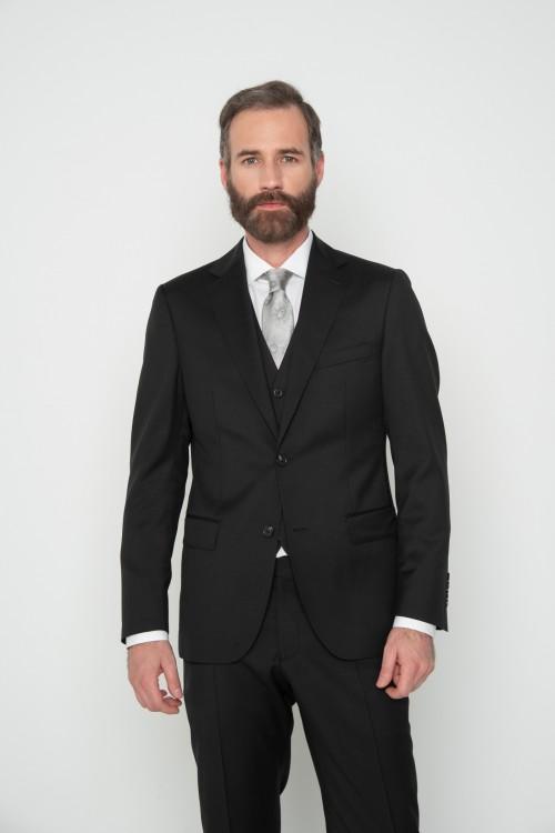 Κοστούμι μονόχρωμο Super 110s, ανδρικό