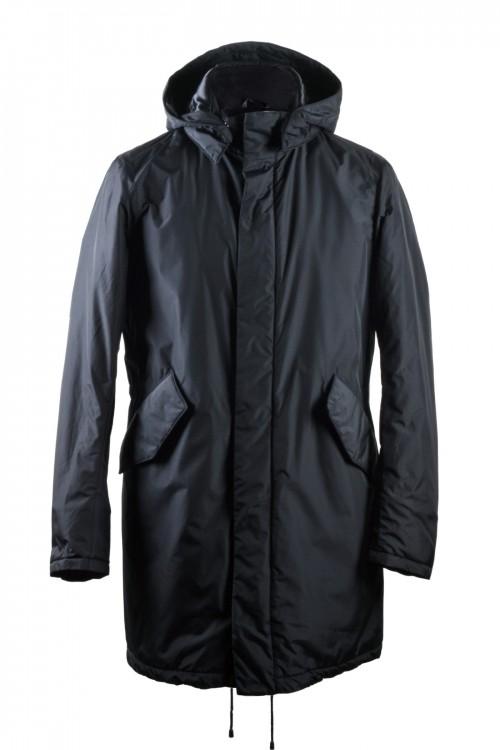 Jacket με κουκούλα & ΡΙΠ στο μανίκι, ανδρικό